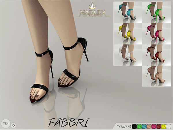 Madlen Fabbri Shoes by MJ95 at TSR image 13101 Sims 4 Updates