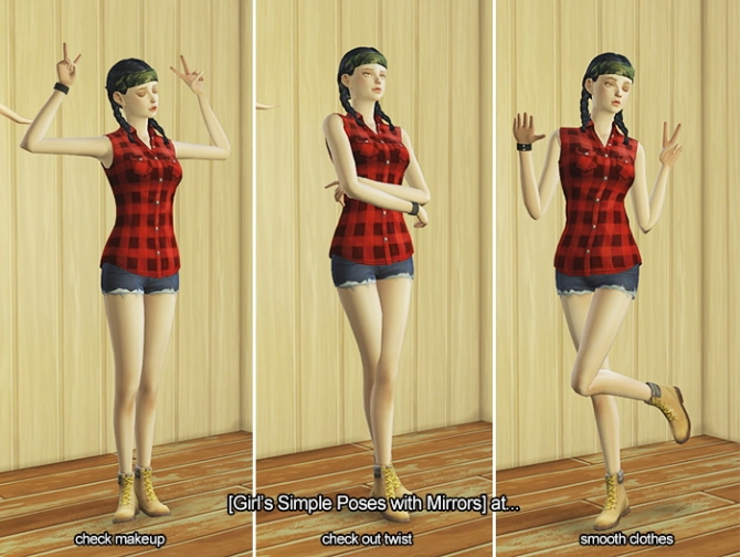 GIRL'S SIMPLE POSES (IN GAME) at LILO Sims4 image 13212 Sims 4 Updates