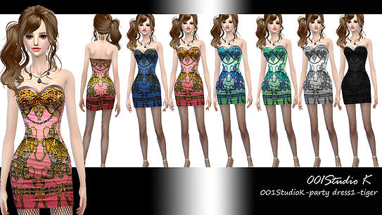 Uniforms, dresses... at Studio K Creation image 134 Sims 4 Updates