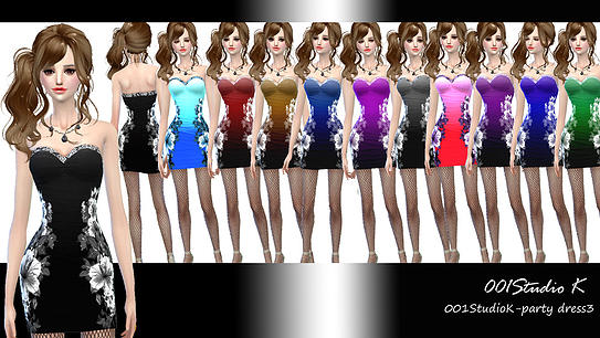 Uniforms, dresses... at Studio K Creation image 135 Sims 4 Updates