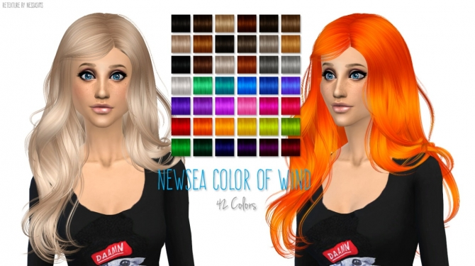 Sims 4 Newsea Color Of Wind retexture at Nessa Sims