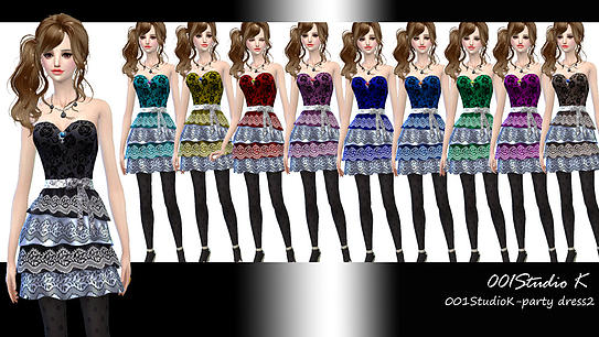 Dresses, jackets, skirt and uniforms at Studio K Creation image 136 Sims 4 Updates
