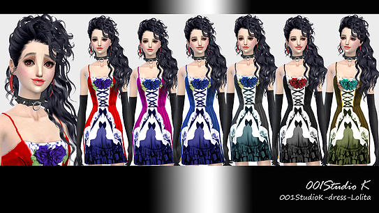 Dresses, jackets, skirt and uniforms at Studio K Creation image 139 Sims 4 Updates