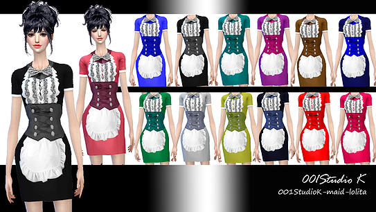 Dresses, jackets, skirt and uniforms at Studio K Creation image 140 Sims 4 Updates