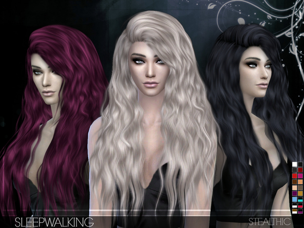Sleepwalking Female Hair By Stealthic At Tsr Sims 4 Updates