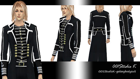 Dresses, jackets, skirt and uniforms at Studio K Creation image 141 Sims 4 Updates
