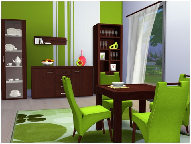 Lawrence diningroom at Sims by Severinka image 1410 Sims 4 Updates