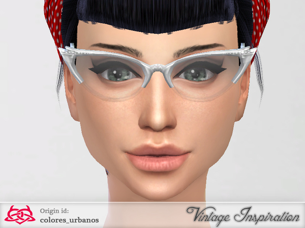 Cat Eye Glasses by Colores Urbanos at TSR image 14105 Sims 4 Updates