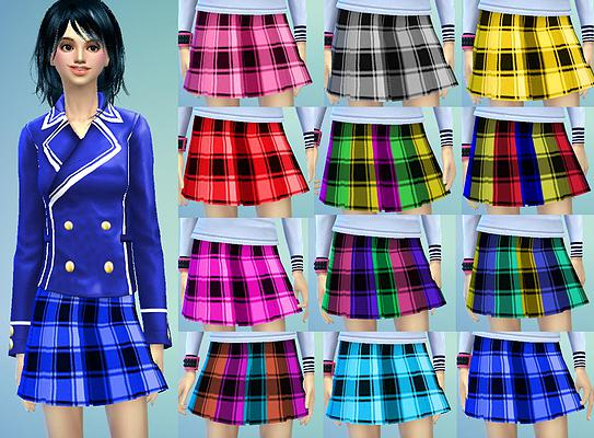 Dresses, jackets, skirt and uniforms at Studio K Creation image 144 Sims 4 Updates