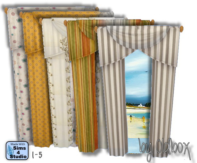 Curtains by Oldbox at All 4 Sims image 1440 Sims 4 Updates