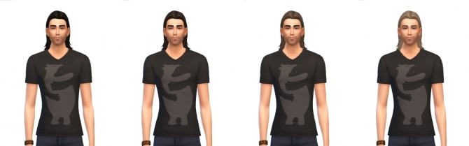 Sims 4 Med Center Part hair at Busted Pixels