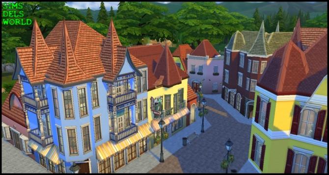 European City Center at SimsDelsWorld image 1498 Sims 4 Updates