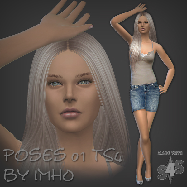 8 Poses 01 by IMHO at IMHO Sims 4 image 15015 Sims 4 Updates