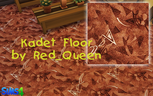 Sims 4 Kadet Floor by Red Queen at ihelensims