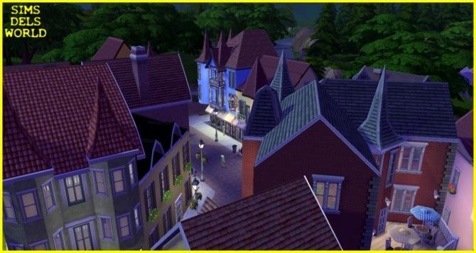 European City Center at SimsDelsWorld image 1509 Sims 4 Updates