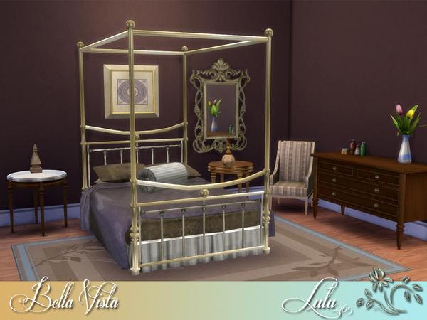 Sims 4 Bella Vista Bedroom by Lulu265 at TSR