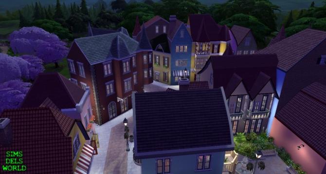 European City Center at SimsDelsWorld image 15114 Sims 4 Updates