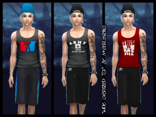 Sims 4 Wide Oversized Tops at Amberlyn Designs