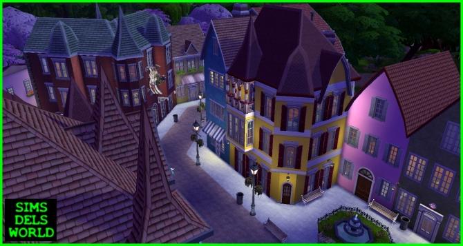 European City Center at SimsDelsWorld image 15310 Sims 4 Updates