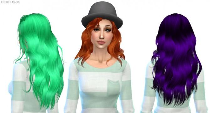 Sims 4 Newsea Hello hair retexture at Nessa Sims
