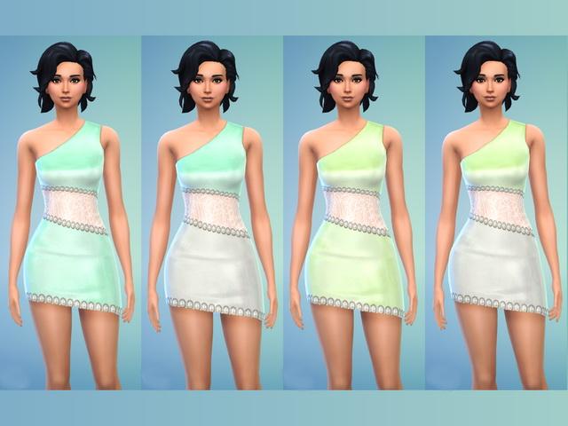 Sims 4 Leoni dress by Blackbeauty583 at Beauty Sims