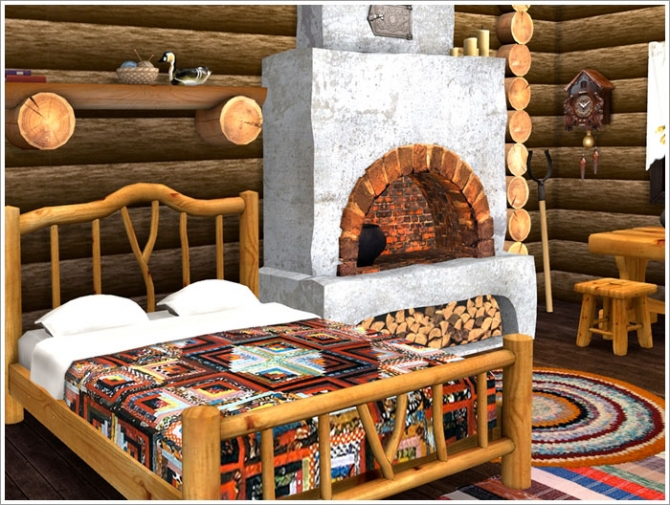 Forest Hut Set At Sims By Severinka 187 Sims 4 Updates