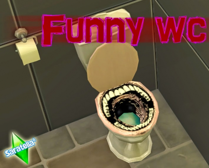Funny WC at Saratella's Place image 1569 Sims 4 Updates