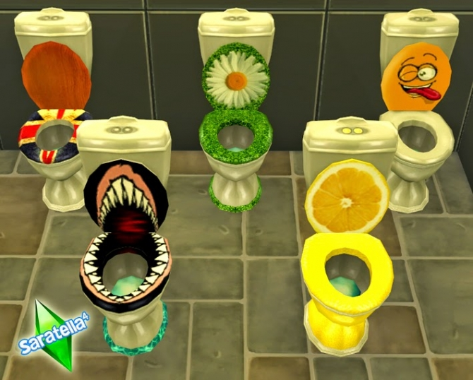 Funny WC at Saratella's Place image 1579 Sims 4 Updates