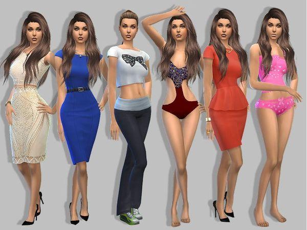 Sims 4 Helena May by MartyP at TSR