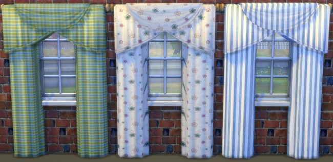 Curtains by Oldbox at All 4 Sims image 1649 Sims 4 Updates