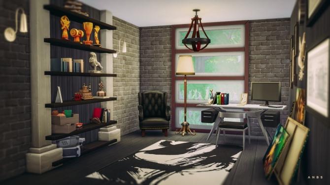 Sims 4 ELM STUDY at Alachie & Brick Sims
