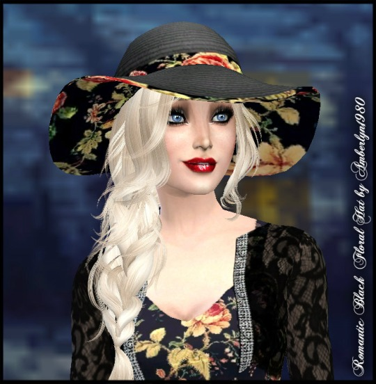 Sims 4 Romantic Dress with Lace Jacket and Hat at Amberlyn Designs