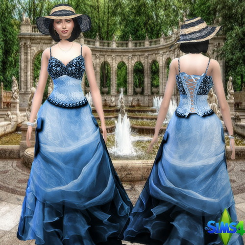 Sims 4 Anne Lys by Mich Utopia at Sims 4 Passions