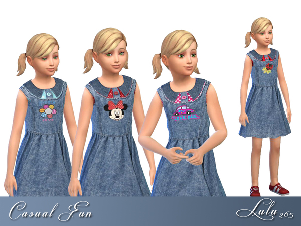 Casual Fun dress by Lulu265 at TSR image 1695 Sims 4 Updates