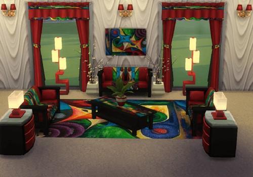 Modern Living room set at Trudie55 image 17 1 Sims 4 Updates