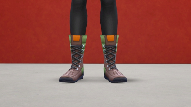 Sims 4 All Outdoor Retreat AM/AF Shoes Base Game compatible at Pickypikachu