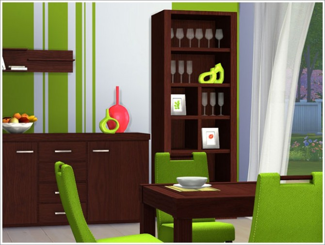Lawrence diningroom at sims by severinka sims 4 updates for Dining room ideas sims 4