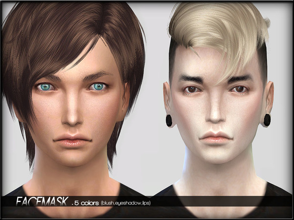 Face Mask Set 2 by ShojoAngel at TSR image 17110 Sims 4 Updates