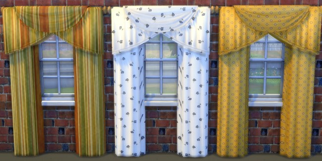 Curtains by Oldbox at All 4 Sims image 1737 Sims 4 Updates