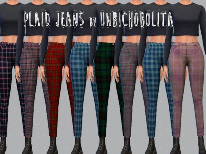 Sims 4 High waisted pants recolor at Un bichobolita