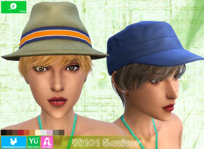 YU101 Savivor haircut (Free) at Newsea Sims 4 image 1756 Sims 4 Updates