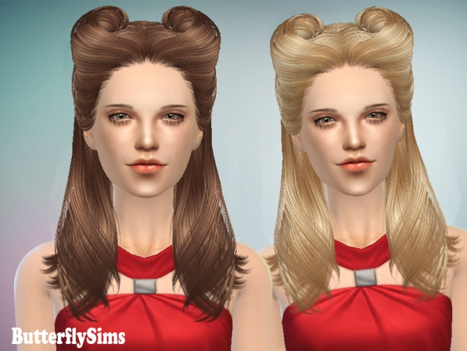 Sims 4 Hair 082 by YOYO (Pay) at Butterfly Sims