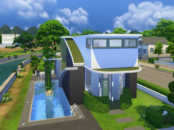 Futuristic Design house by Suzz86 at TSR image 1789 Sims 4 Updates