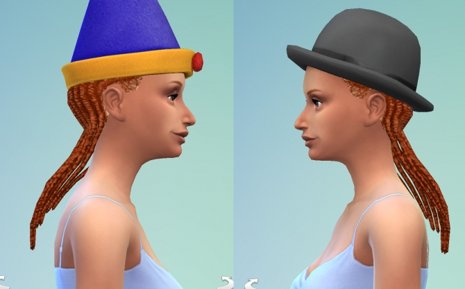 S2 female dreadlocks conversion by necrodog at Mod The Sims image 17911 Sims 4 Updates