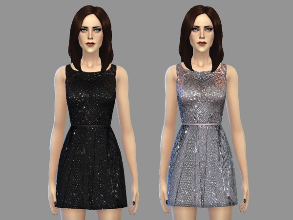 Lauren dress by April at TSR image 1794 Sims 4 Updates