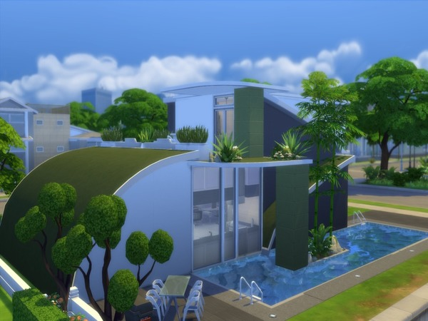 Futuristic Design house by Suzz86 at TSR image 1799 Sims 4 Updates