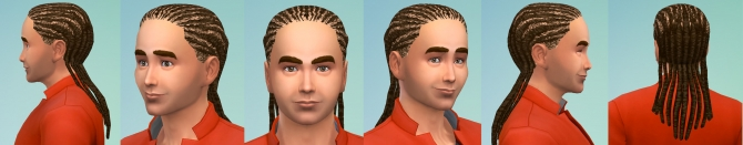 S2 female dreadlocks conversion by necrodog at Mod The Sims image 18012 Sims 4 Updates