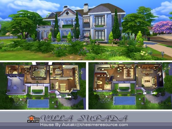 Villa Supada by autaki at TSR image 1824 Sims 4 Updates