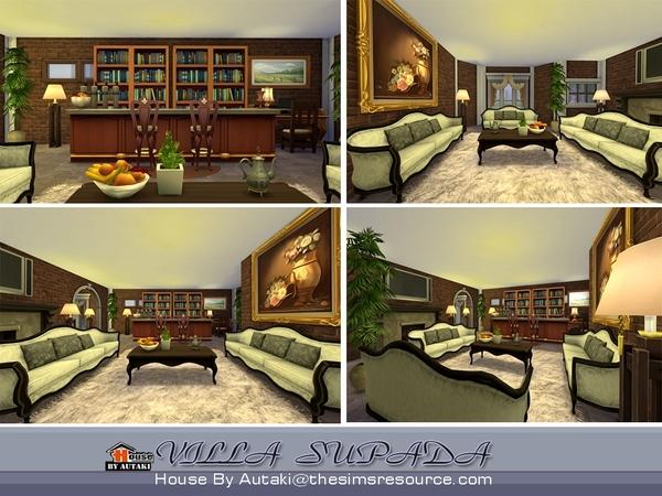 Villa Supada by autaki at TSR image 1834 Sims 4 Updates