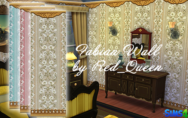 Fabian Wall by Red Queen at ihelensims image 187 Sims 4 Updates